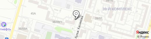 Estores на карте Набережных Челнов