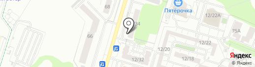 Рубикон на карте Набережных Челнов
