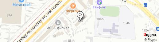 GRAND HOSTEL на карте Набережных Челнов