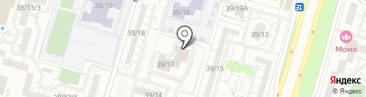 Белый барс на карте Набережных Челнов