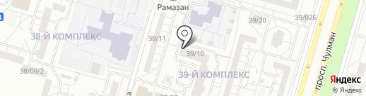 Rakesa на карте Набережных Челнов