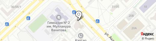 English Speaking Club на карте Набережных Челнов