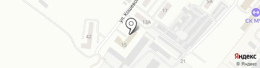 Школа лидерства на карте Альметьевска