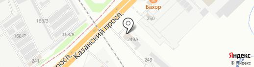НЬЮПОРТ на карте Набережных Челнов