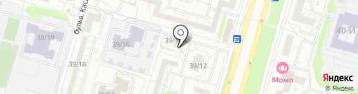 Киоск по продаже кондитерских и хлебобулочных изделий на карте Набережных Челнов