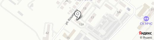 Газовик, ТСЖ на карте Альметьевска