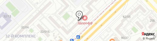 ПРАВО116 на карте Набережных Челнов