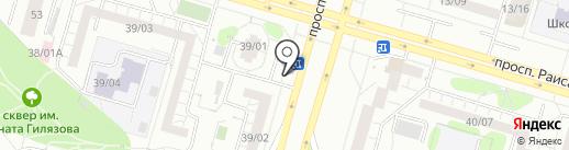 Киоск по ремонту обуви и сумок на карте Набережных Челнов