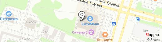 Островок на карте Набережных Челнов