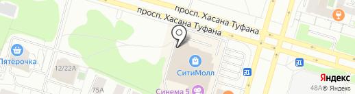 Банкомат, Автоградбанк на карте Набережных Челнов