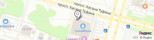 Моsт на карте Набережных Челнов