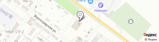 Юнион-Моторс на карте Альметьевска