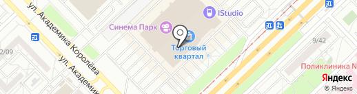 Мобильные штучки на карте Набережных Челнов
