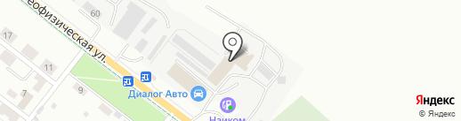 Dialog-Auto на карте Альметьевска