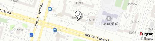 Gavana на карте Набережных Челнов