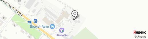 Промвентиляция на карте Альметьевска