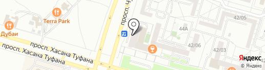 Harat`s pub на карте Набережных Челнов