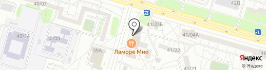 Пятёрочка на карте Набережных Челнов