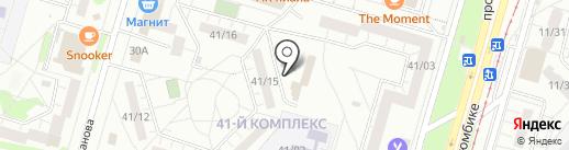 Инструмент Сервис на карте Набережных Челнов