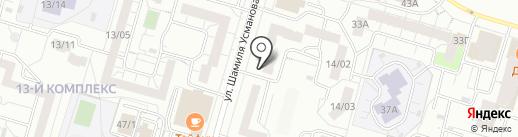 Хрустальный колодец на карте Набережных Челнов