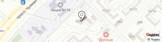 Салон на карте Набережных Челнов