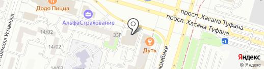 ДТП-Защита на карте Набережных Челнов