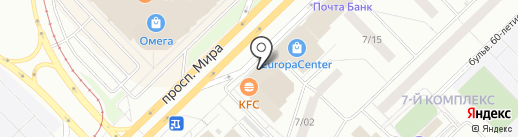 KFC на карте Набережных Челнов