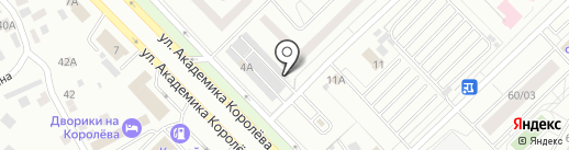 Алка на карте Набережных Челнов