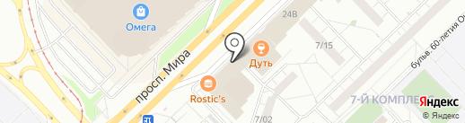 Табачок на карте Набережных Челнов