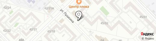 Груша на карте Набережных Челнов