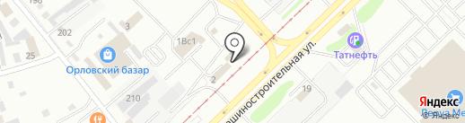 Авто-Трейд на карте Набережных Челнов