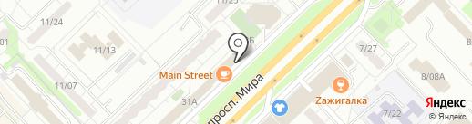 Клюква на карте Набережных Челнов