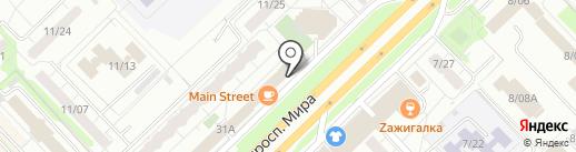 ПивБерри на карте Набережных Челнов