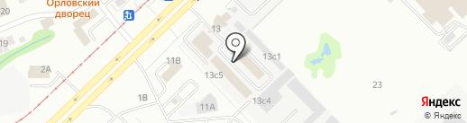Атмосфера уюта на карте Набережных Челнов