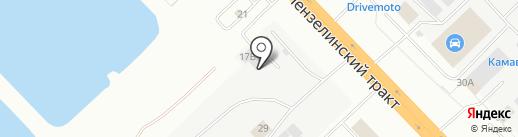 Оптово-розничный магазин автозапчастей для грузовых иномарок на карте Набережных Челнов