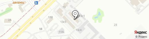 Аква-Комфорт на карте Набережных Челнов