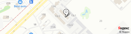 Строй-Комфорт на карте Набережных Челнов