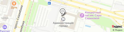 Городской совет муниципального образования г. Набережные Челны на карте Набережных Челнов