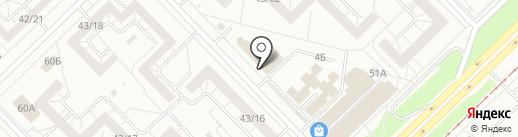 Эден Декор на карте Набережных Челнов