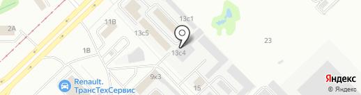 Йошкар-Олинские двери на карте Набережных Челнов
