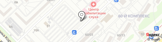 Автостоянка на карте Набережных Челнов