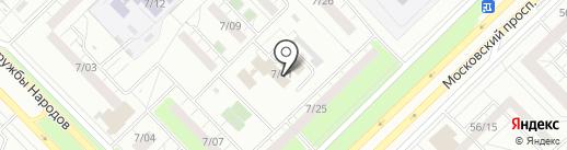 Кактус на карте Набережных Челнов