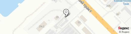 ТракЕвроСервис на карте Набережных Челнов