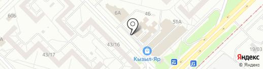 Кабинет костоправа на карте Набережных Челнов