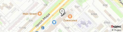 Сеть платежных терминалов, Татфондбанк, ПАО на карте Набережных Челнов
