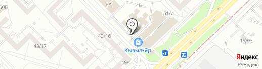 Банкомат, Быстробанк, ПАО на карте Набережных Челнов