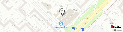 NOGOTOK.OK на карте Набережных Челнов