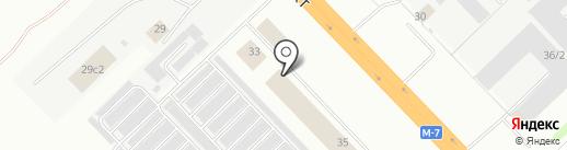 Табыш на карте Набережных Челнов