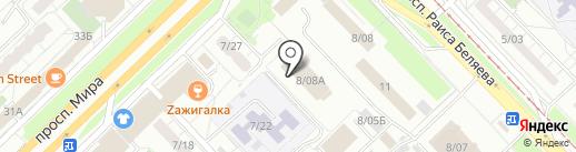 Школа рукопашного боя на карте Набережных Челнов