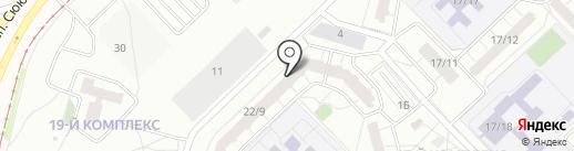 Центр развития и образования, АНО на карте Набережных Челнов